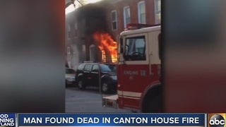 Man found dead in Canton house fire - Video