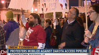Protesters Stand Against Dakota Access Pipeline - Video