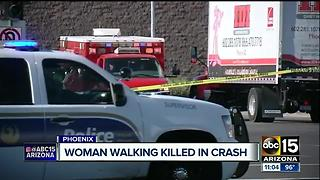 Woman killed in crash involving Phoenix suspects - Video
