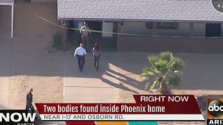 Two bodies found inside near I-17 and Osborn Road - Video