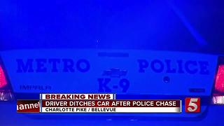 Driver Escapes Chase After Trying To Hit Officer - Video