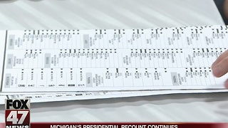 Ingham County starts recounting ballots - Video