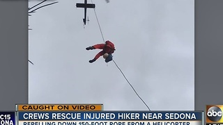 ABC15 talks hiking safety tips after a group got stuck near Sedona - Video