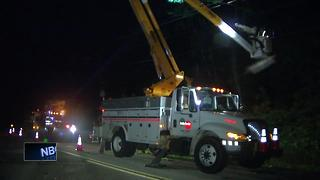WPS restores power to thousands without power in Door County - Video