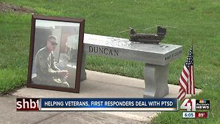 Olathe family helps vets, first responders deal with PTSD - Video