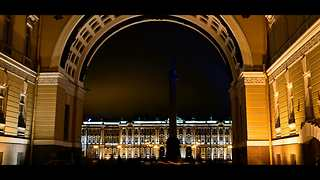 5,000 photographs used to create Saint Petersburg time lapse - Video
