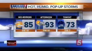 Henry's Morning Forecast: Wednesday, June 14, 2017 - Video