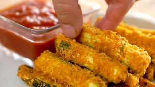 Baked Zucchini Fries - Video