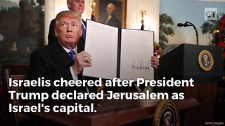 Trump Reaffirms Western Wall Is Part of Israel