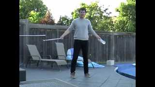 Guy Bottle Flips 16 Times Using Golf Club - Video