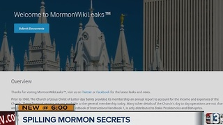 New website sheds light on Mormon religion - Video