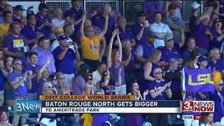 LSU baseball fans take over Omaha - Video