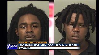 No bond for suspects in fatal shooting near Lantana - Video