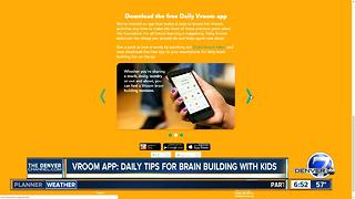Vroom app: Daily tips for parents to build kids' brains - Video