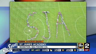 Good morning from St. James Academy in Baltimore County - Video