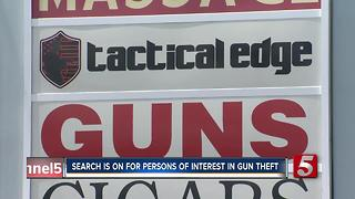 Reward Offered In Theft of 45 Guns From Clarksville Gun Store - Video