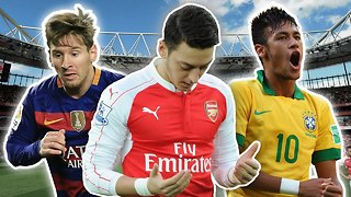 Top 10 Most Charitable Footballers | Messi, Neymar & Özil! - Video