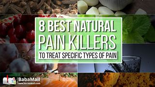 8 Best Natural Painkillers to Treat Specific Types of Pain - Video