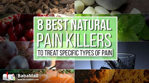8 Best Natural Painkillers to Treat Specific Types of Pain
