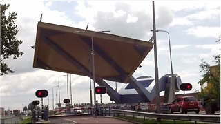 Slauerhoff Bridge in the Netherlands isn't your typical bridge - Video