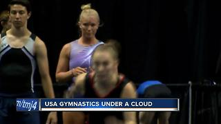 USA gymnastics in Milwaukee amid scandal - Video