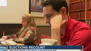 Wisconsin election officials hold final recount meeting