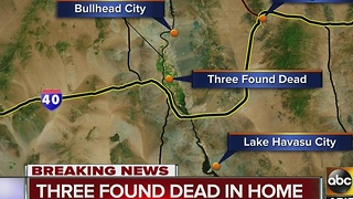 Three people found dead in home in Mohave County