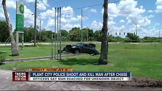 The Plant City Police Department is investigating an officer-involved shooting that took place on Thursday morning. - Video