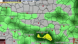 Lelan's Early Morning Forecast: Wednesday, January 11, 2017