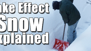 Lake Effect Snow Explained - Video