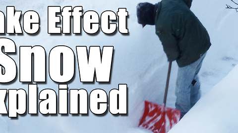 Lake Effect Snow Explained
