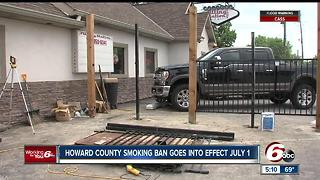 Howard County Smoking Ban