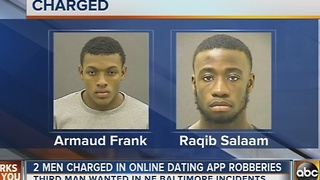 2 of 3 men wanted in online dating robberies arrested