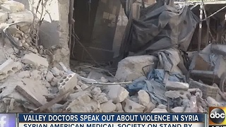 Valley doctor says violence in Syria hits close to home - Video