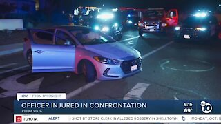 CVPD officer hurt in confrontation with driver