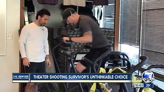 After trying everything to relieve pain, Aurora theater shooting victim to have leg amputated - Video