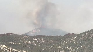 Evacuations Underway as Tucson Wildfire Spreads - Video