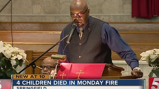 Community Remembers Children Killed In Fire - Video