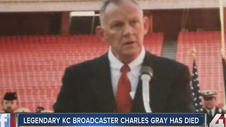 Legendary KC newsman Charles Gray dies - Video
