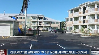 Clearwater officially opens new affordable housing community
