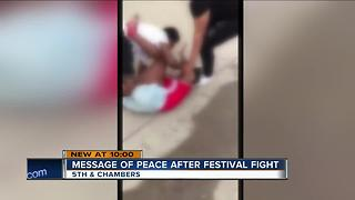 Girls attacked by teen boys after Juneteenth Festival - Video