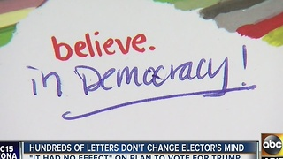 Arizona electoral college voter received 100 letters in 1 day