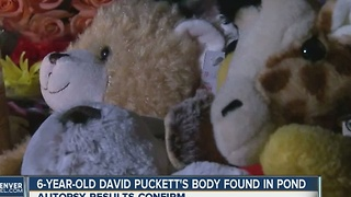 6-year-old David Puckett's body found in pond - Video