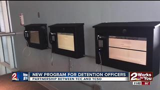 Tulsa County Sheriff's Office announces new program with TCC