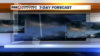Lower Rain Chances Through Friday 6-21 - Video