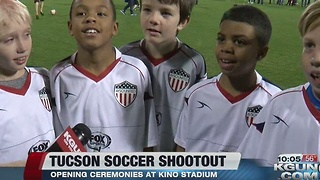 Opening Ceremonies at Tucson Association of Realtors Soccer Shootout - Video