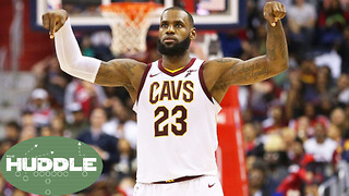 Is LeBron James' Greatness Being Taken for Granted? -The Huddle - Video