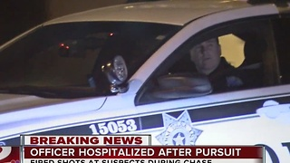 Tulsa Police Officer hospitalized after overnight shooting - Video