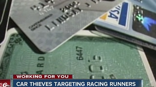 CALL 6: Thieves targeting racing runners - Video