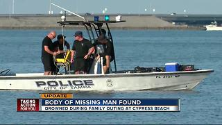 Missing swimmer's body found